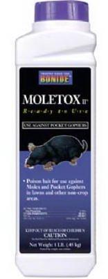 - Moletox Ii Mole & Gopher Killer, 6 Pack, 1 lb each