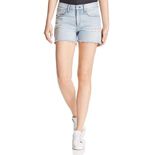 Rag & Bone/JEAN Women's Boy Shorts, Martini, Blue, - And Clothes Bone Rag