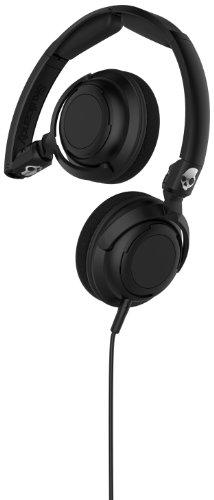 אוזניות Skullcandy Lowrider Headphones w/Mic Black/Black/Black, One Size