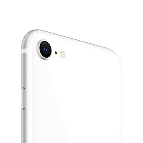 New Apple iPhone SE (256GB, White) [Carrier Locked] + Carrier Subscription [Cricket Wireless] ($10/Month Amazon Gift Card Credit)