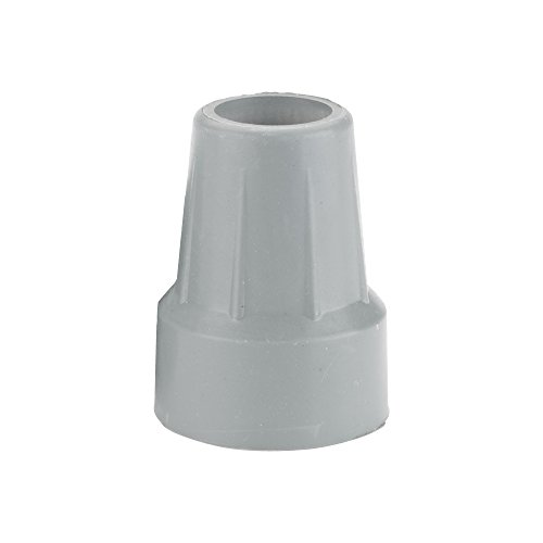 Drive Medical Crutch Tips, Gray, 7/8 Inch