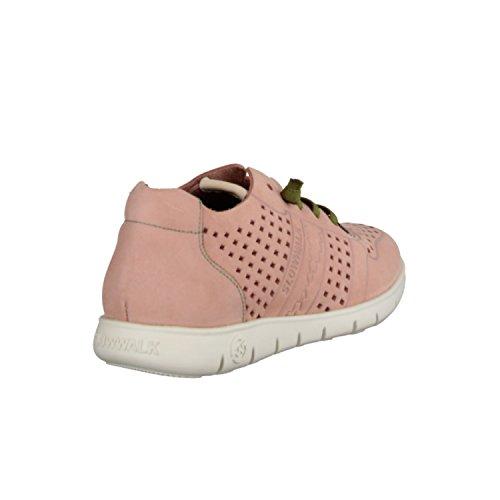SLOWWALK Morvi 10360W- Damenschuhe Sneaker, Mehrfarbig, Leder (Nubuk)