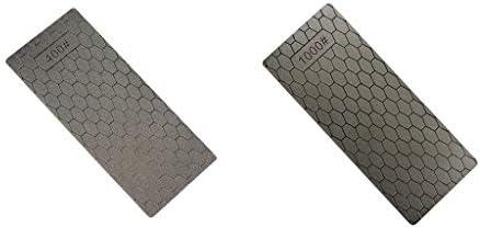 CUTICATE 2ピース/個グリット400/1000コンビネーションシャープニングストーン名倉石