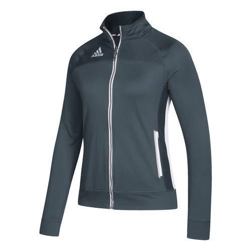 adidas Women's Climalite Utility Jacket - Onix/White - -