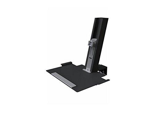 Humanscale QSBL30 Monitorhalterung, Metall, schwarz, 710 x 430 x 58,50 cm
