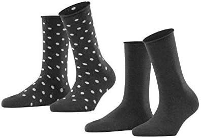 Esprit Dot 2 Pack Damen Socken Mit Punktdesign Bekleidung