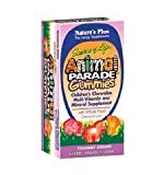 Nature's Plus - Childrens - Animal Parade Gummies Assorted 75 (2-Pack)