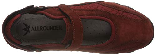 By Compétition suede Mephisto 64 C w Niro rust Running Femme Allrounder Chaussures rust De Rouge 64 mesh SdqUwSY