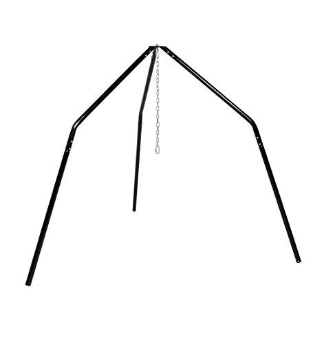 HearthSong® Family HugglePod Hangout Hanging Play Tent Stand - Outdoor Playground Equipment - 8.75 ft x 8.75 ft x 8 ft H]()