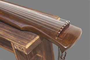 Exquisite Chinese 7 String Instrument Old Fir