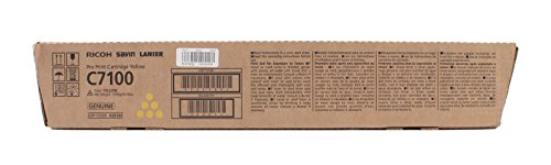 C7100 Pro Print Cartridge Yellow Toner Savin Lanier - Ricoh 828385