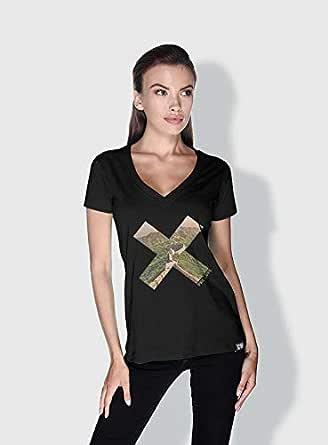 Creo Beijing X City Love T-Shirts For Women - S, Black