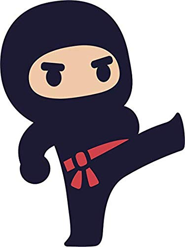 Amazon.com: EW Designs Adorable Kawaii Japanese Kid Ninja ...