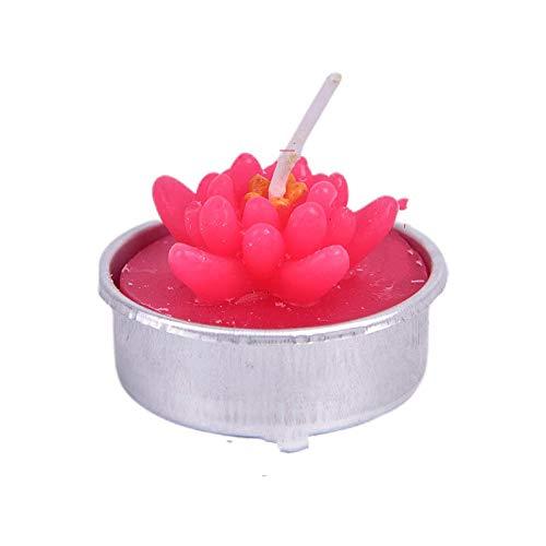 WWWL Creatieve kaars 2 stks Creatieve 3D Cactus Kaarsen Gesimuleerde Planten Rookloze Geurende Valentijnsdag Gift Party…