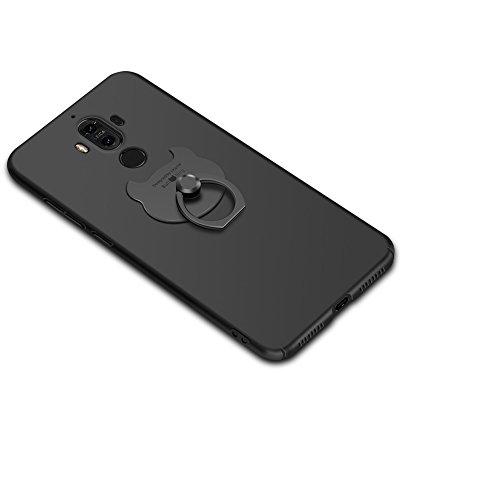 Huawei Mate9 Funda , Huawei Mate9 Pro Funda ,color sólido, estilo sencillo,Alta Calidad Ultra Slim Anti-Rasguño y Resistente Huellas Dactilares Totalmente Protectora Caso de Plástico Duro Cover Case+s A