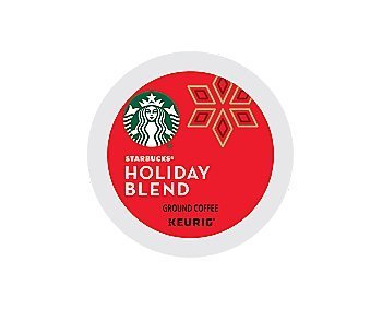 Starbucks 2016 Holiday Blend Coffee, Keurig K-Cups, 16 Count