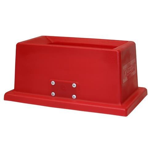 San Jamar KA1950RD KatchAll Red Slim Jim Flatware (San Jamar Flatware Retriever)