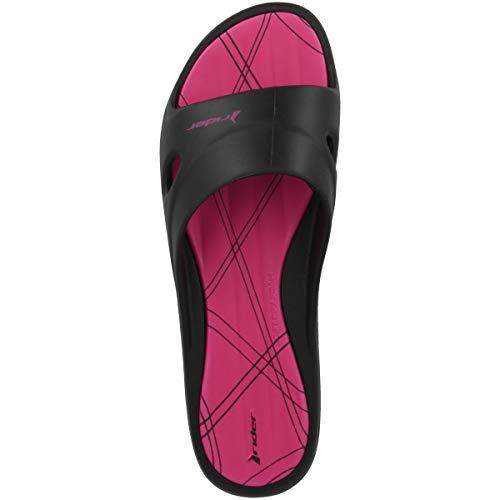 Rider VII Bout Femme Slide 8341 pink Feet 82214 Ouvert Fem Black 7Sw47rAWq