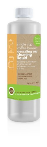 Full Circle Biodegradable Single Cup Brewer Cleaning and Descaling Liquid 14 ounce by Urnex