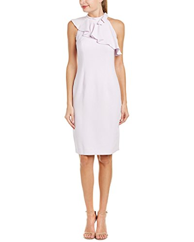 Teri Jon Womens by Rickie Freeman Sheath Dress, 14, Purple