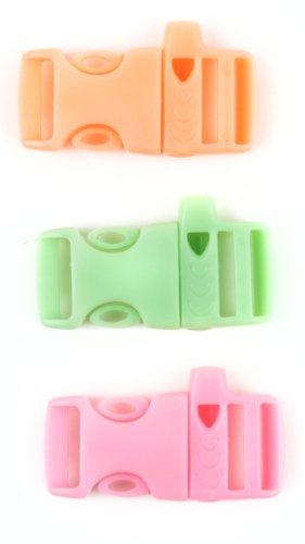 Midwest Design Imports Glow-in-The-Dark with Whistle Buckle, Assorted from Midwest Design Imports, Inc.