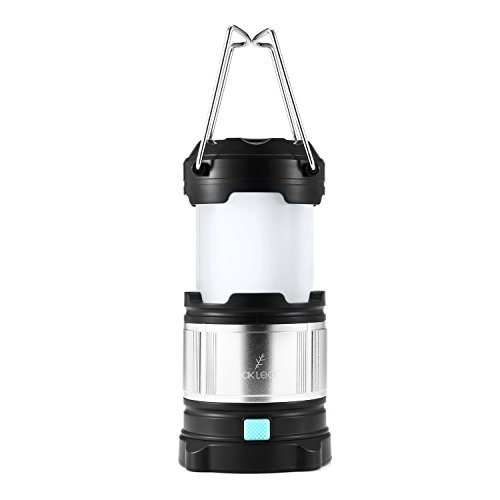 LED Lantern,Oak Leaf Portable Rechargeable Camping Lanterns with 4400mAh USB