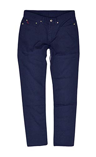 Polo Ralph Lauren Chino Twill Straight Jeans Pants (Aviator Navy, 30X32) ()