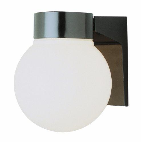 (Trans Globe Lighting 4800 BK Outdoor Pershing 7
