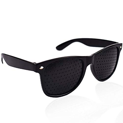 Vision Care Visual Correction Glasses Exercise Improve Eye Eyesight Eyewear (Black Vision Glasses)