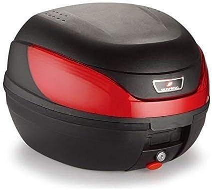 Milano Edge Motorradkoffer Roller Koffer Top Case 32 Ltr Sport Freizeit