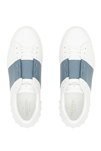 Valentino Zapatillas Para Hombre Azul Claro/Blanco It - Marke Größe