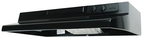 Air King DS1366 Designer Series 36-Inch Under Cabinet Range Hood, Black - 200 Cfm Range Hood