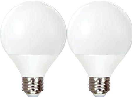 1 or 2 Bulbs Fluorescent Light Bulb GE Globe Compact 40 Watt 500 Lumens