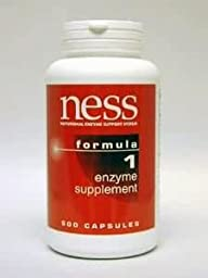 NESS Enzymes - Protein Digest #1 500 VegiCaps
