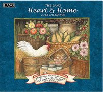 Perfect Timing - Lang 2013 Heart and Home Commemorative Wall Calendar (1001622) -