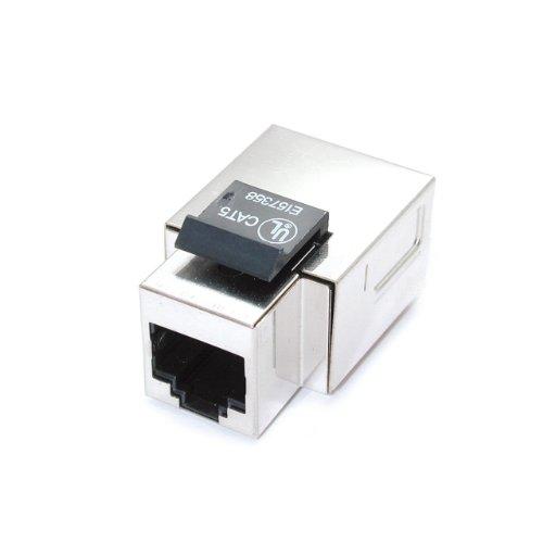 StarTech KEY110S Cat5e Fully Shielded RJ45 Tool-Less Keystone Jack - - Startech Shielded Audio Cable