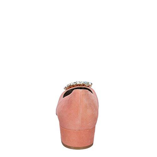 OSVALDO ROSSI Zapatos de Vestir de Ante Para Mujer Rosa Rosa
