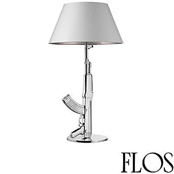 De Philippe Chromé Design Starck Table Guns Lampe Gun Flos droQBWeCx