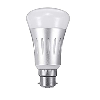 WiFi Smart LED Bulb, APP Voice Remote Control Bulb Supports for Alexa/Google Home, No Hub Required, B22 /E27