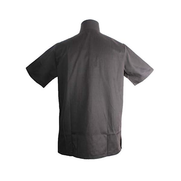 Misemiya Camiseta Casaca Unfiromes Sanitarios Unisex Camisa de sanitario, Hombre 6