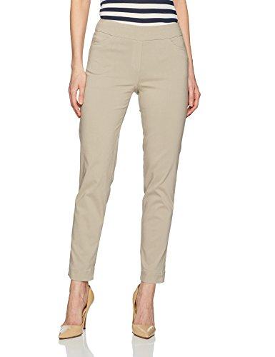 Ladies Pants Golf (SLIM-SATION Womens Ankle Pant, Stone, 10)