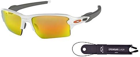 Oakley Flak 2.0 XL OO9188 Sunglasses For Men BUNDLE with Oakley Accessory Leash Kit