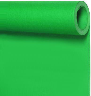 Seamless Photo Background Paper Roll Chroma Key Green, 107 Inches Wide x 36 Feet Long - This Product is NOT Returnable by ALZO Digital