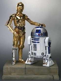 Star Wars: C-3PO & R2-D2 Vinyl Model Kit