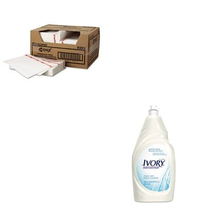 KITCHI8252PAG25574 - Value Kit - Procter amp; Gamble Professional Dish Detergent (PAG25574) and Chix Food Service Towels, White 13.5 x 21 (CHI8252)