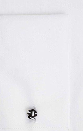 Alexander Dobell Chemise Habillée Blanche Avec Boutons Amovibles