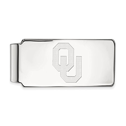 Oklahoma Money Clip (Sterling Silver) by LogoArt