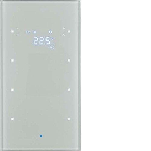 Hager 75643034 interruptor de luz Aluminio Vidrio ...