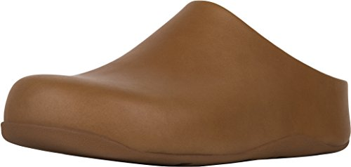FitFlop trade; Womens Shuv™ Leather Caramel Size 11 by FitFlop