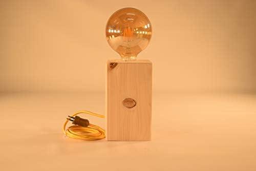 Lámpara Eftel.100% madera maciza de pino natural. Inspiración ...
